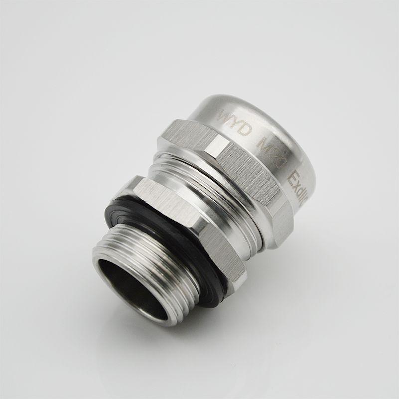 供应维依德品牌不锈钢电缆接头M20 防水电缆接头厂家耐腐