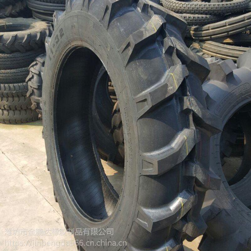 出售全新品质旱田用拖拉机11-32轮胎 农用人字花纹轮胎