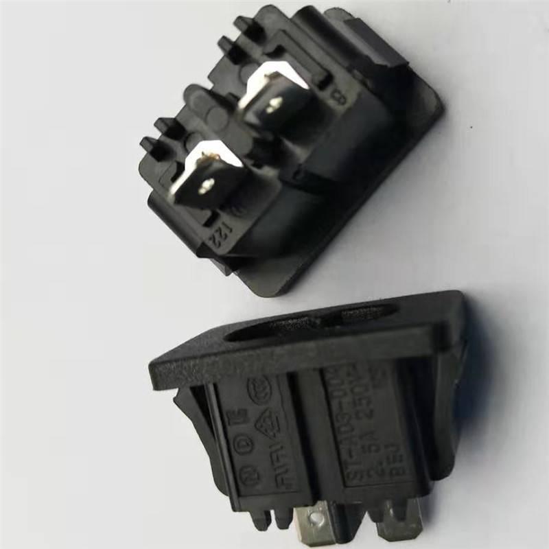28*16面板八字尾電源插座 帶KC認證8字插座