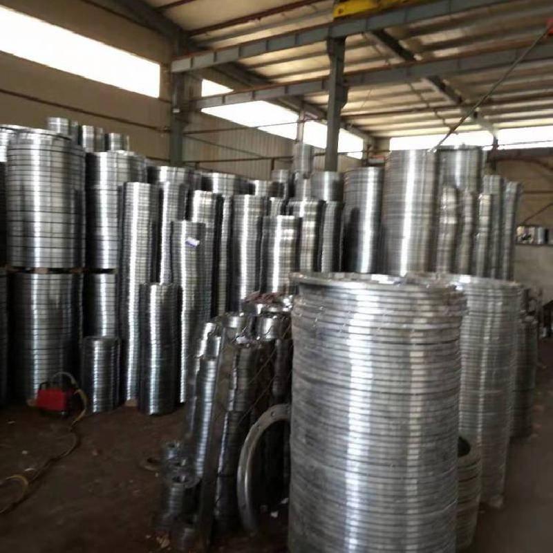 生产DN100 PN2.5碳钢SO平焊法兰 不锈钢法兰盘物超