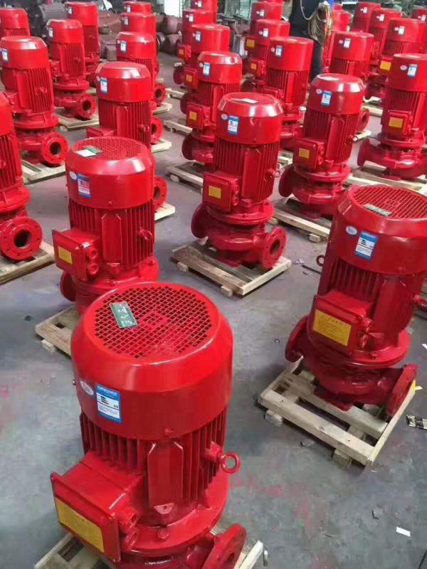 新供应CCCF标准消防泵XBD8.0/10G-L/22KW一手货源不锈钢材质
