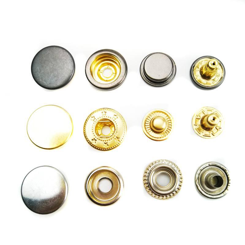 铜质不锈钢四合扣四合钮急钮车缝钮钮扣按钮轻扣面板扣
