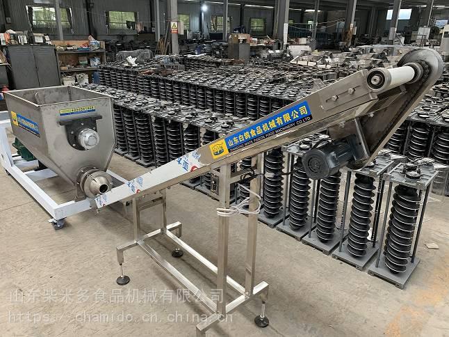 白鸽厂家直销新型50/100/150kg和面输送一体机
