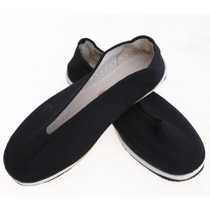 厂家生产传统圆口布鞋3520黑色元口布鞋防滑耐磨
