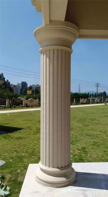 grc罗马柱哪家好-grc罗马柱-易商量装饰工程罗马柱