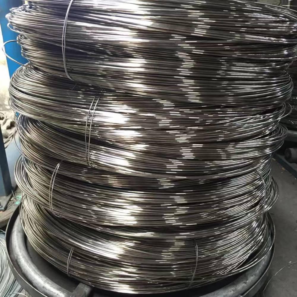 江苏兴化不锈钢丝厂家定做 00cr17不锈钢轻拉丝
