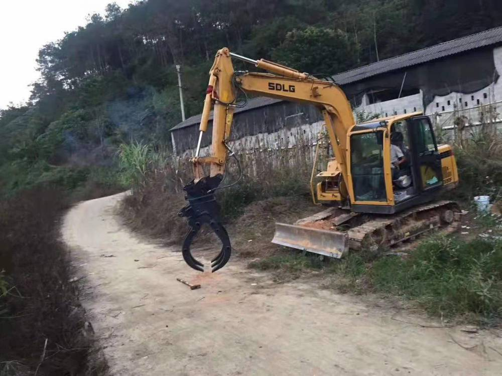 新源挖機帶夾木器廠家 遠山挖機夾木器 寶鼎挖機夾木器金爪子