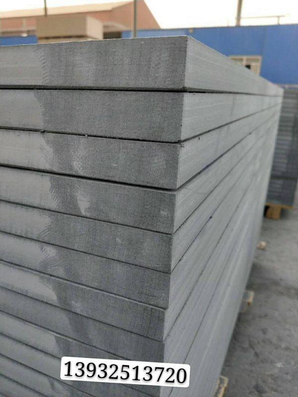 高强水泥压力板 硅酸钙板 现场展示操作中