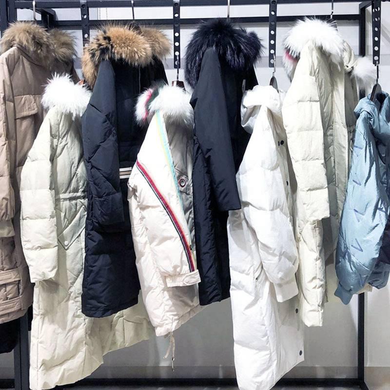 古诺尔冬装 女装袖子款式羽绒服 千色基地服装加盟 服装羽绒服