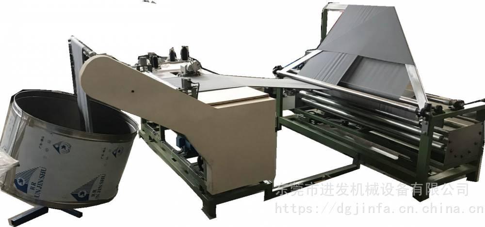 對折縫邊機對折劈縫機斜紋圓桶布機對折圓桶布機斜裁設備