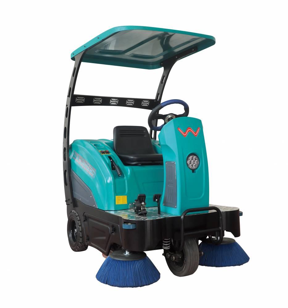 嘉路宝T2吸尘清扫车 电动环保喷水吸尘扫地车