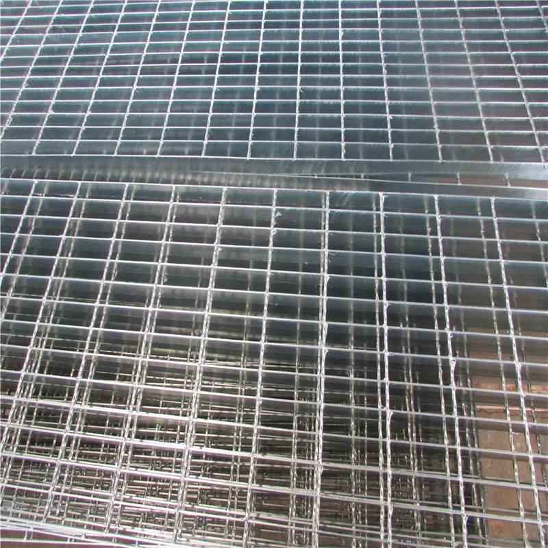 钢格栅板加工定制 热镀锌钢格板 平台钢格板 水沟盖板