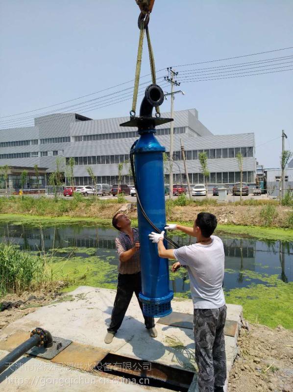 潜水下吸泵价格-160KW下吸式深井泵