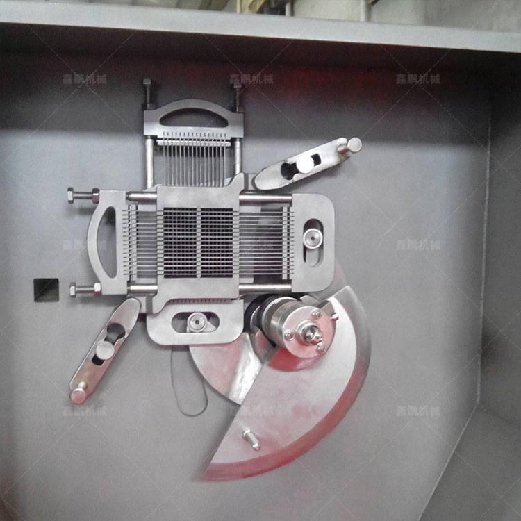 内蒙古鮮肉凍肉切丁機廠家直銷 多功能肉類切丁機 切肉丁機