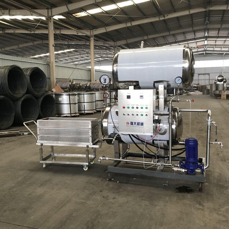 强大机械出售萝卜汁大型杀菌设备