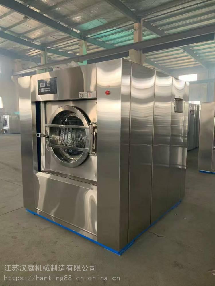 山西洗衣店用不銹鋼材質多功能洗脫機XTQ-30洗脫兩用機批量