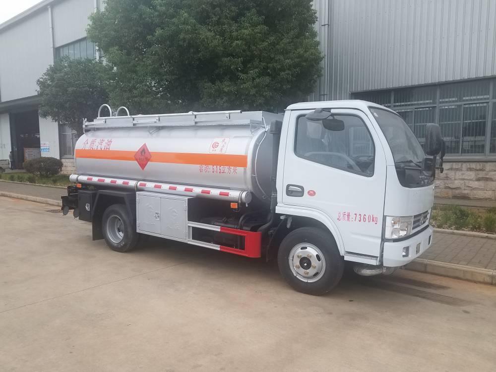国五东风多利卡5吨油罐车价格报价 5吨油罐车多少钱