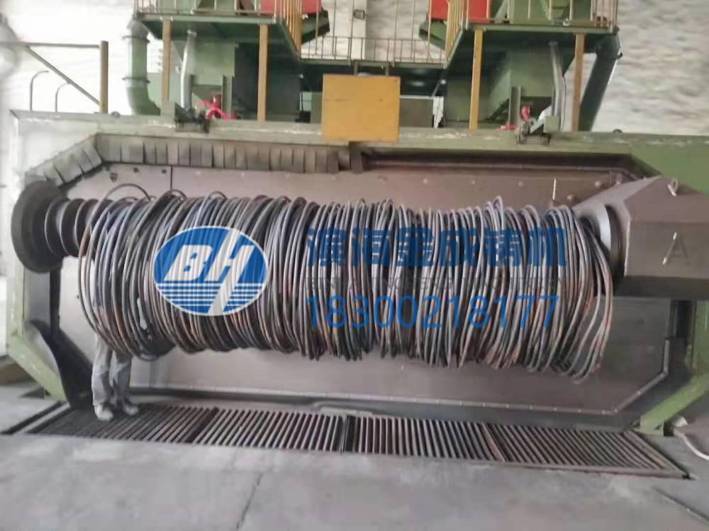 青岛滨海金成铸造机械钢筋抛丸清理机
