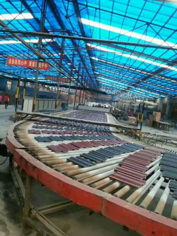 山东淄博-连锁瓦、平板瓦、双筒瓦、陶瓷瓦、屋面瓦-厂家生产线