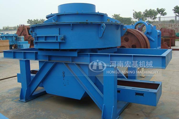 上周,四川宏基机械向河南德阳石料厂提供的一台时产150吨房屋石制平米鹅卵v机械72图片