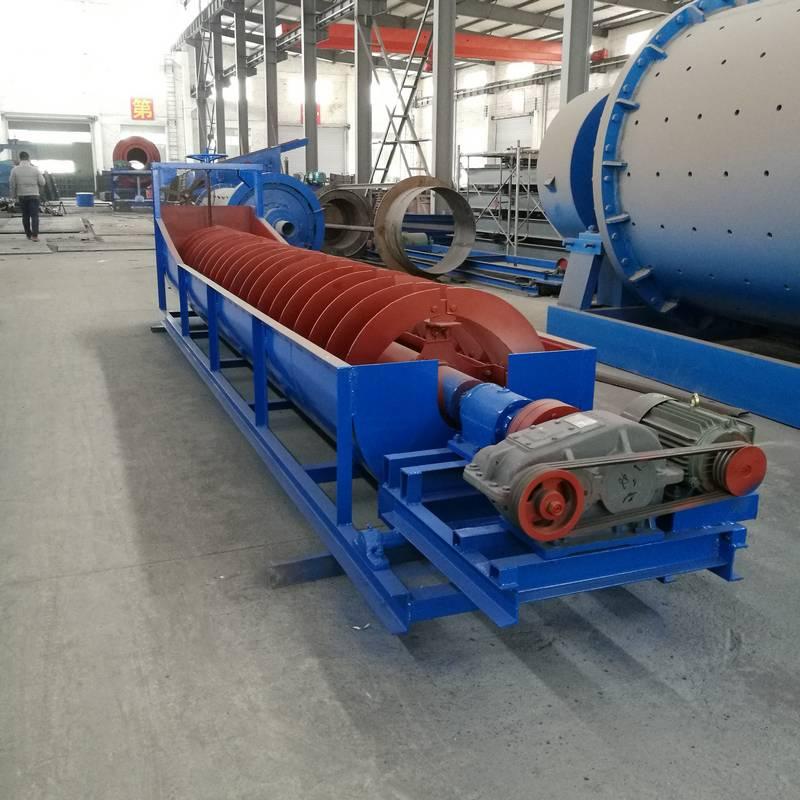 赣州螺旋分级机厂家 螺旋分级机 螺旋分级机的分级效率 叶片