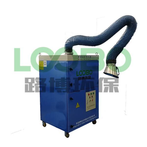 焊接煙塵凈化器使用效果展示