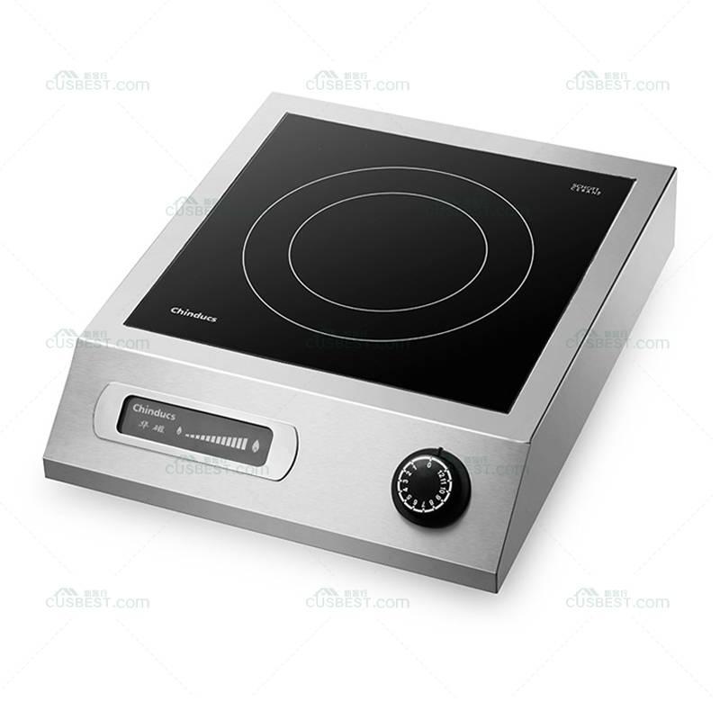 商用电磁炉Hatco IRNG-PC1-36主菜黑色高功率的台面感应范围/炊具