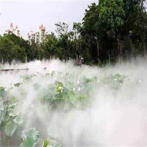 荷花池景觀人造霧設備工程