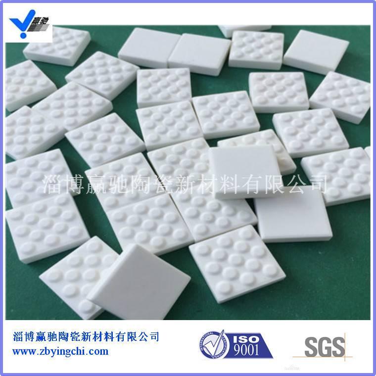 滚筒陶瓷包胶用带麻点氧化铝陶瓷片