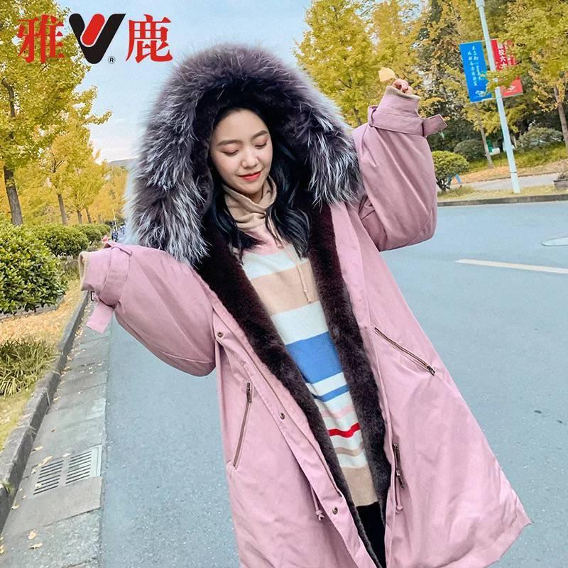 广州白马服装批发市场 璞秀女装新款羽绒服毛衣 品牌折扣实体零售店直播蘑菇街货源