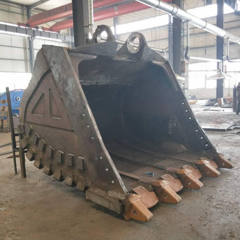小松1250 7立方巖石斗 濟寧卡爾迪機械生產