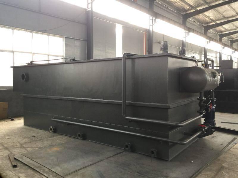 溶气气浮机污水处理设备 屠宰场洗车场用一体式溶气气浮装置