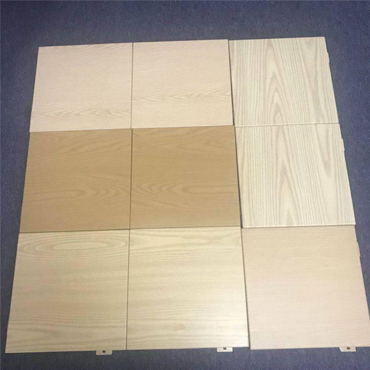 定制防火木紋鋁單板生產熱轉印木紋鋁單板廠家軍輝建材