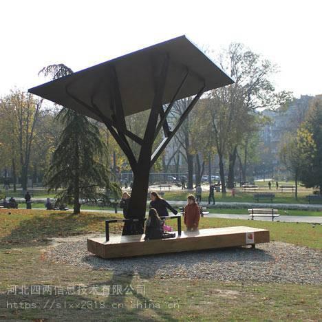 四兩科技太陽能景觀座椅、太陽能座椅公共座椅