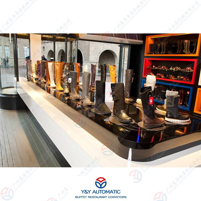 可动玩具展示柜设备_模型玩具移动陈列架_可动不锈钢展示柜