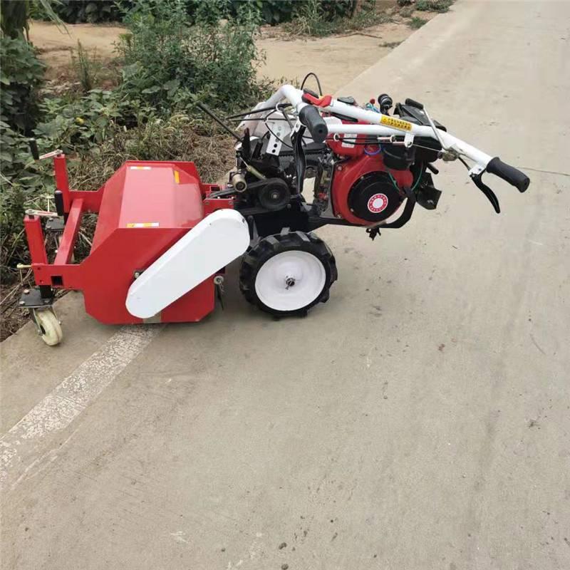 农用杂草碎草机 手扶粉草碎草机 汽油灭草机价格