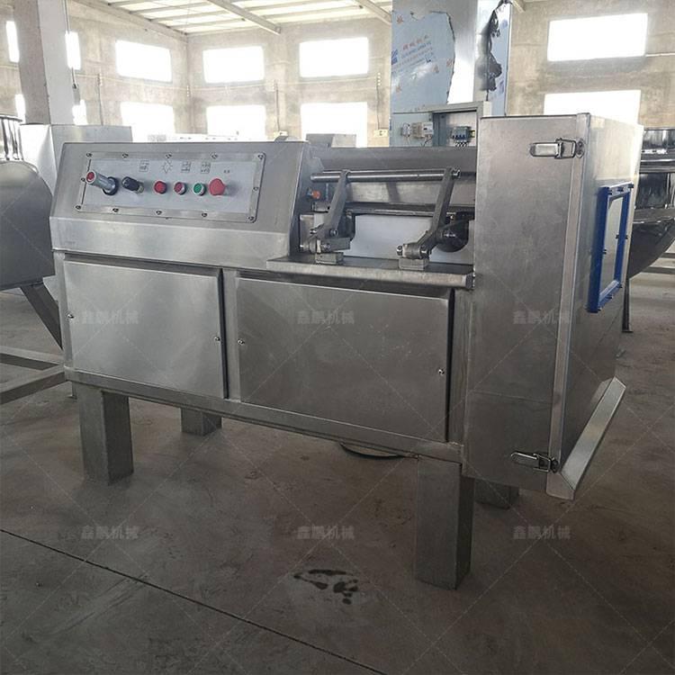 河北全自動蘆荟800型凍肉切丁機價格