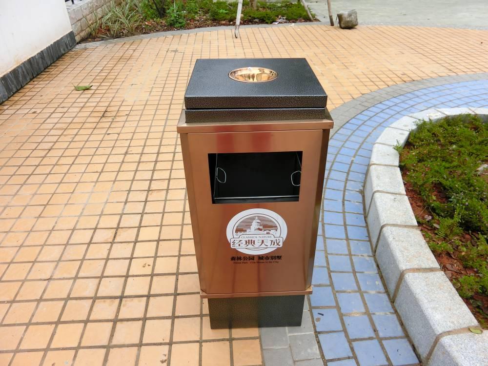 厂家专业定做不锈钢 户外不锈钢垃圾桶