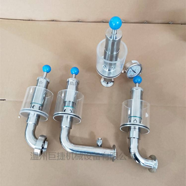 不銹鋼排氣閥 彎頭式 直通式水封式排氣閥