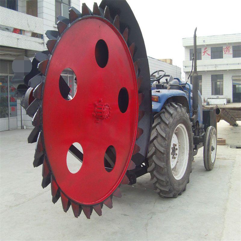 拖拉机路面开沟机 混凝土地开槽机 公路开沟机