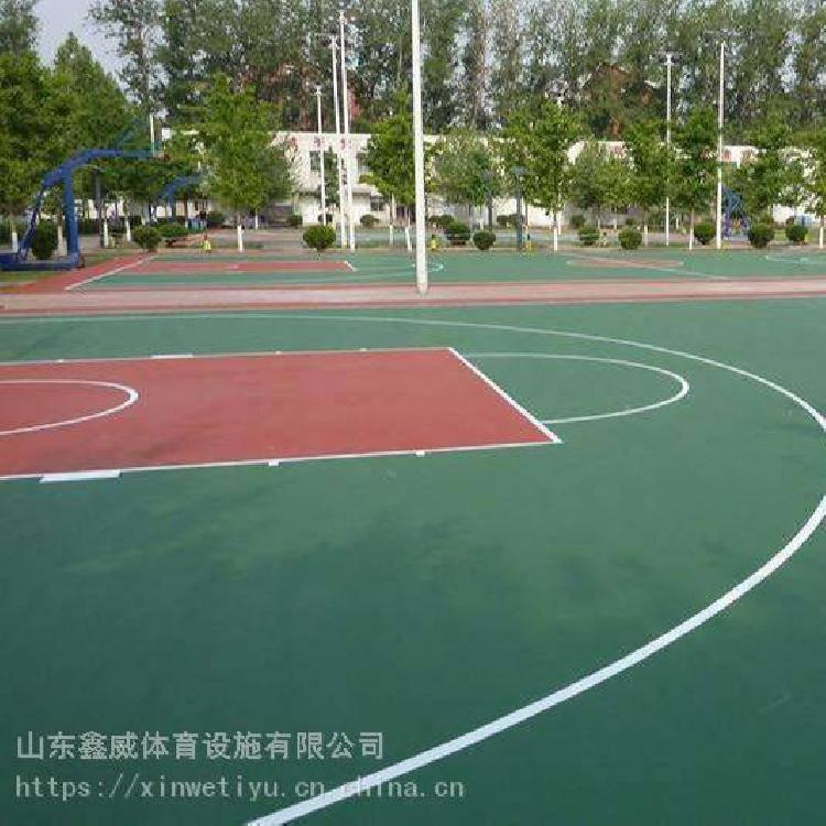 江蘇新沂矽PU塑膠籃球場新沂矽pu塑膠籃球場新沂彈性pu球場材料廠家施工