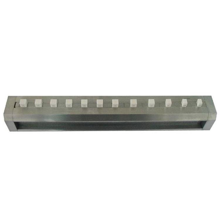 安一步距规节距规阶梯规陶瓷量块不锈钢基体校准坐标0-300MM