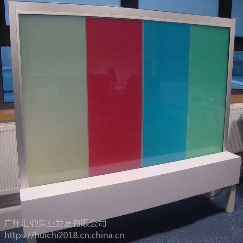 彩色调光玻璃 广州厂家定制多彩通电调光玻璃