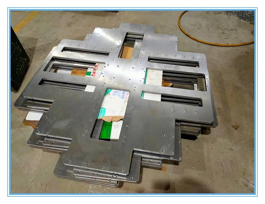 1米多的大板加工视频,1米多的铝板加工,大型cnc加工大板