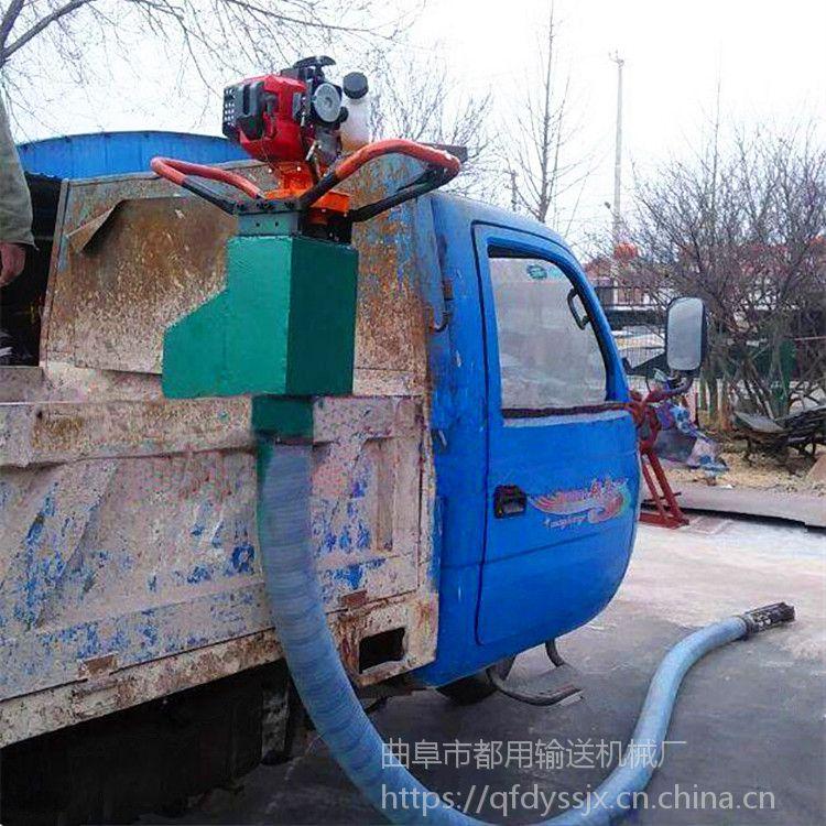 滑石粉软管吸料机 车载型电动吸粮机 农用稻谷装车吸粮机qk