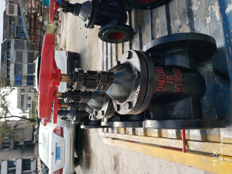 明杆铸铁法兰闸阀价格Z41W-10 DN200 焦作明杆铸铁电动闸阀