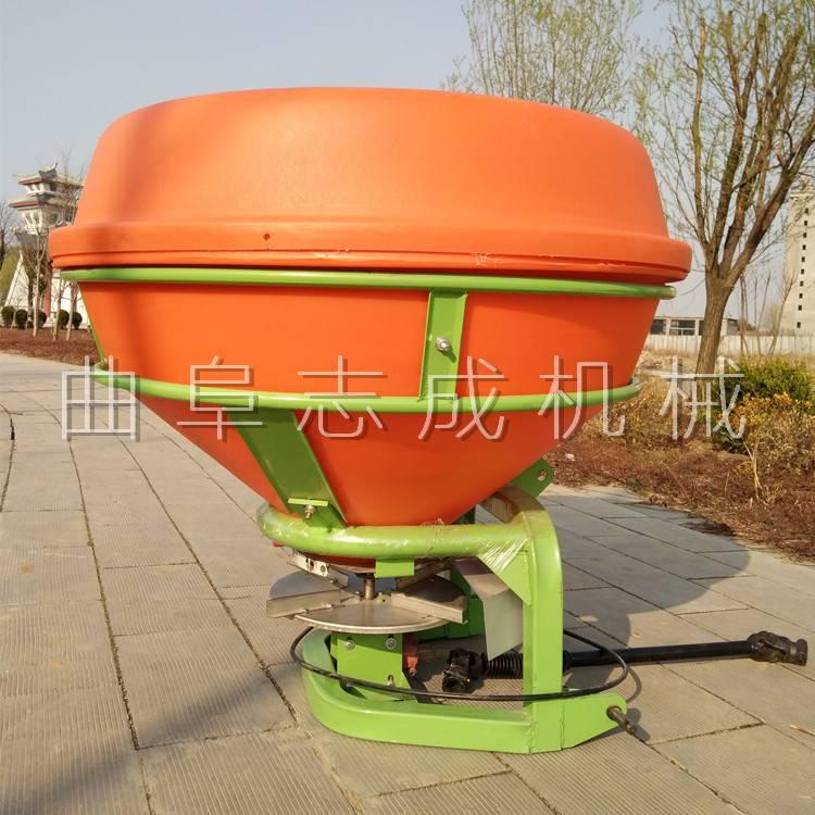 志成高品质后置撒肥机 拖拉机悬挂式撒播机 大容量施肥器