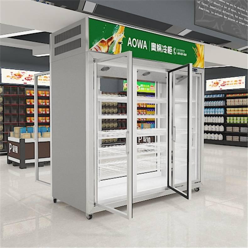 冰柜批发现货佛山茶叶店保鲜柜7-eleven单门保鲜柜批发零
