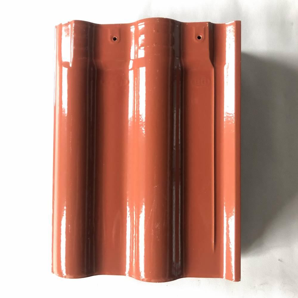 欧式连锁瓦陶瓷屋面瓦陶瓷彩瓦