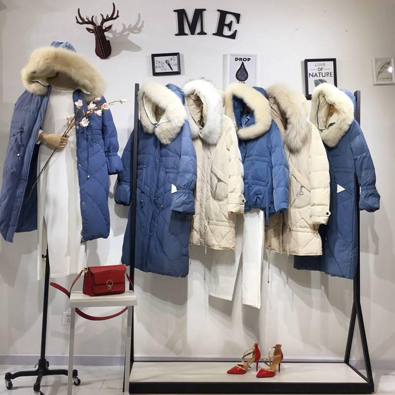 三生物冬装 超薄羽绒服女冬款 品牌运动羽绒服一手 大码女服装